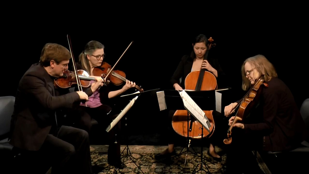 String Quartet in f minor, Op.95, Mvt. 1 Allegro con brio - Ludwig von Beethoven