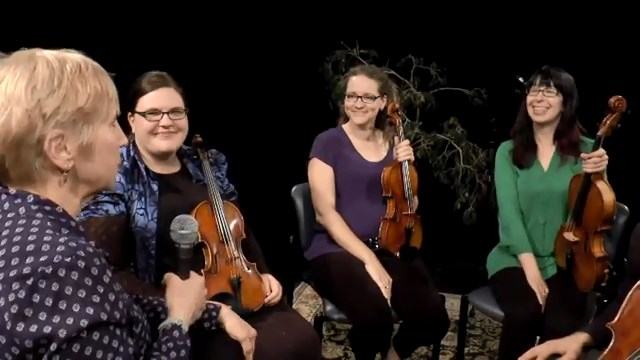 Interview with Mill City String Quartet